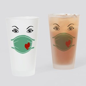 Hospital Mask Drinking Glass