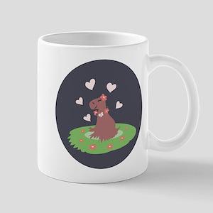 Capybara in Love Mug