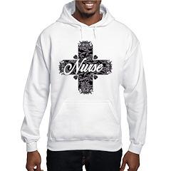 Gothic Nurse Hooded Sweatshirt