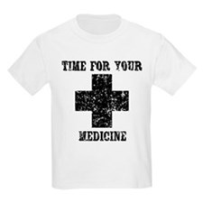 Time For Your Medicine Kids Light T-Shirt