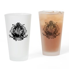 Gothic Crown Drinking Glass