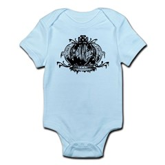 Gothic Crown Infant Bodysuit