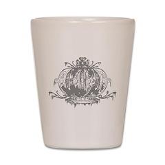 Gothic Crown Shot Glass
