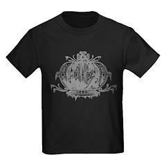 Gothic Crown Kids Dark T-Shirt