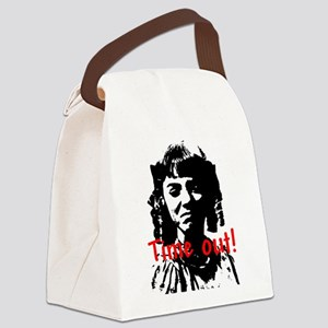 timeout Canvas Lunch Bag