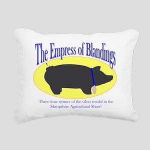 empress Rectangular Canvas Pillow
