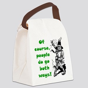 scar3 Canvas Lunch Bag