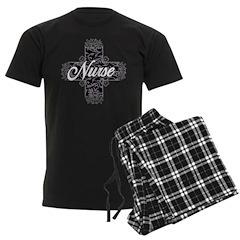 Gothic Nurse Men's Dark Pajamas