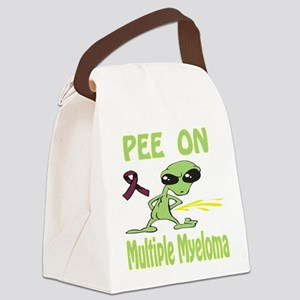 Pee on Multiple Myeloma Canvas Lunch Bag