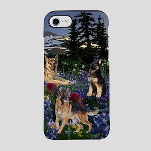 German Shepherd Country iPhone 7 Tough Case