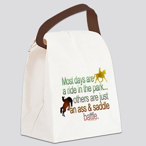 Ride in the park Canvas Lunch Bag