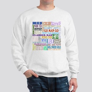 Foundation Names - Color Sweatshirt