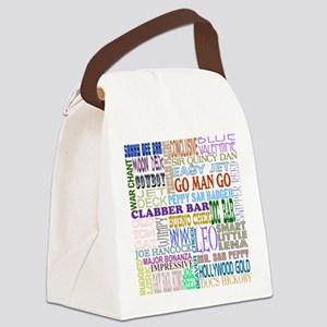 Foundation Names - Color Canvas Lunch Bag