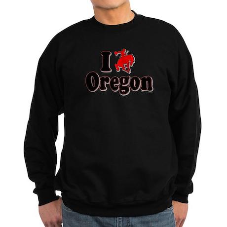 I rodeo OREGON! Sweatshirt (dark)