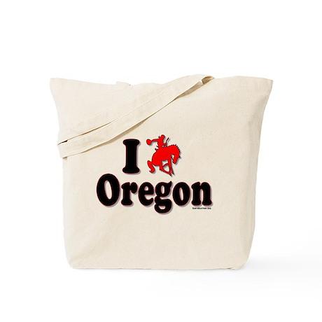 I rodeo OREGON! Tote Bag