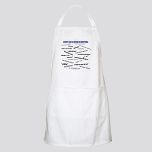 """Cowboys Have an Excuse for Everything"" Apron"