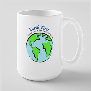 Earth First Large Mug