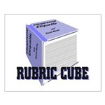 Rubric Cube - Etiquette Small Poster