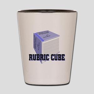 Rubric Cube - Etiquette Shot Glass