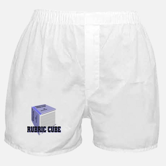 Rubric Cube - Etiquette Boxer Shorts