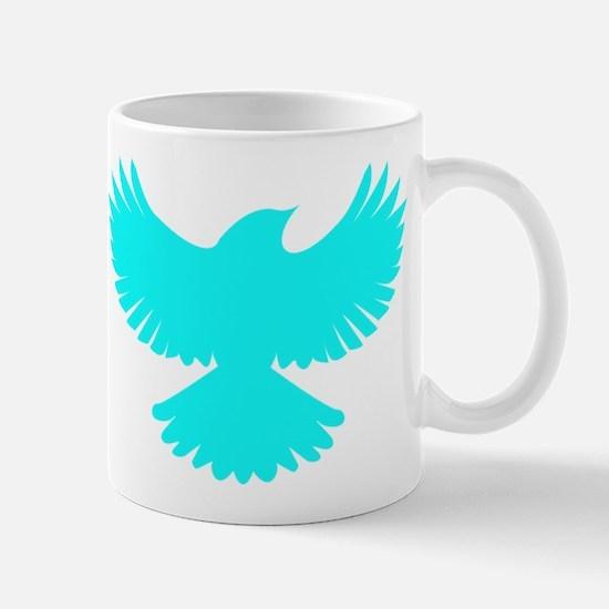 Robin Superhero Parody Blue Bird Mug
