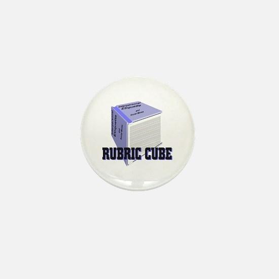 Rubric Cube - Etiquette Mini Button