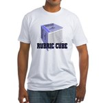 Rubric Cube - Etiquette Fitted T-Shirt