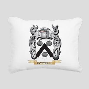 Cottrell Family Crest - Rectangular Canvas Pillow