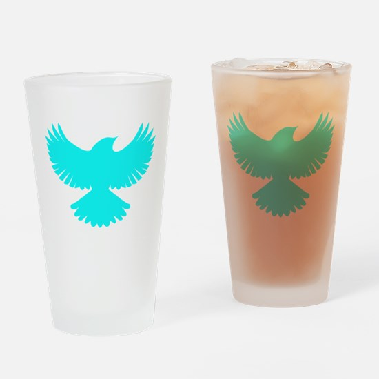 Robin Sidekick Superhero Bird Drinking Glass
