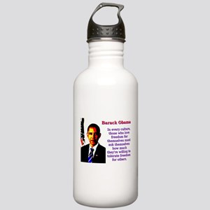 In Every Culture - Barack Obama Water Bottle