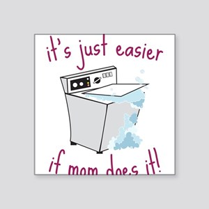 "Just Easier Square Sticker 3"" x 3"""