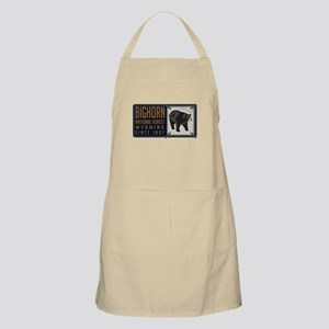 Bighorn Black Bear Badge Apron