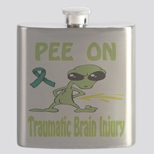 Pee on Traumatic Brain Injury Flask
