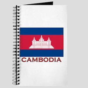 Cambodia Flag Gear Journal