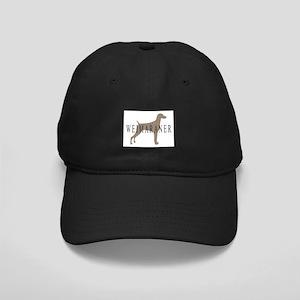 Weimaraner Greytones Black Cap