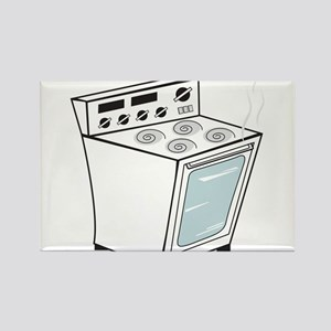 Stove Rectangle Magnet