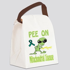 Pee on Mitochondrial Disease Canvas Lunch Bag