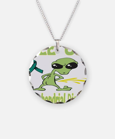 Pee on Mitochondrial Disease Necklace