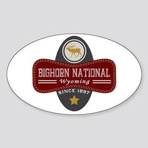 Bighorn Natural Marquis Sticker (Oval)