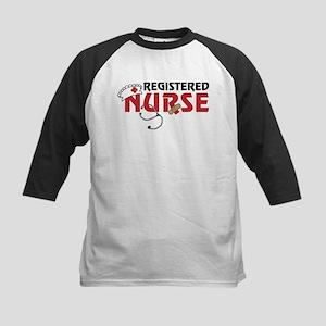 Registered Nurse Kids Baseball Jersey