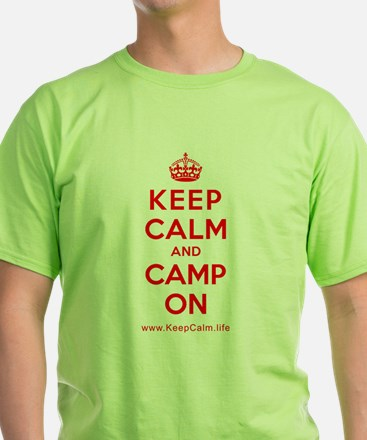 Camp On T-Shirt