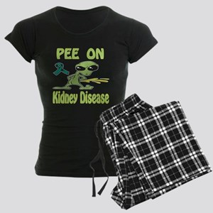 Pee on Kidney Disease Women's Dark Pajamas