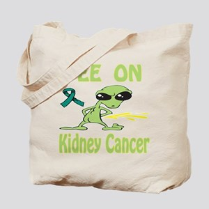 Pee on Kidney Cancer Tote Bag