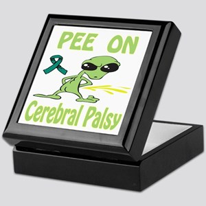 Pee on Cerebral Palsy Keepsake Box