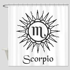 Astrology :: Scorpio Shower Curtain