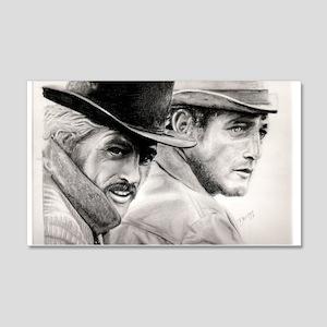 Butch Cassidy and the Sundance Kid4 20x12 Wall