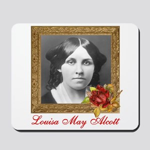 Louisa May Alcott Mousepad
