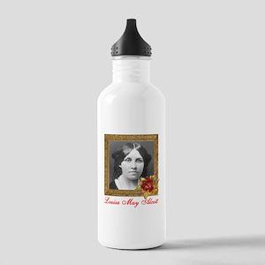 Louisa May Alcott Stainless Water Bottle 1.0L