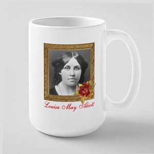 Louisa May Alcott Large Mug