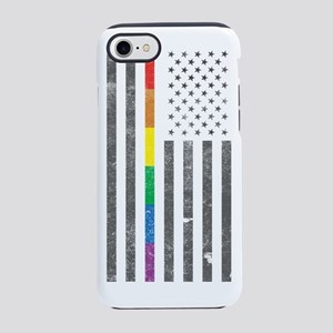 American Pride Flag iPhone 7 Tough Case